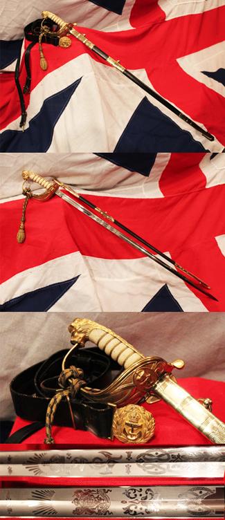 Royal Naval Officers Sword